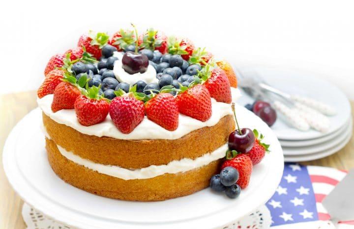 Eggless Fruit Cake Recipe at Home
